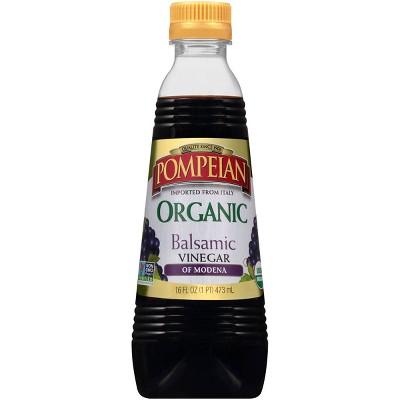 Pompeian Organic Balsamic Vinegar of Modena - 16 fl oz