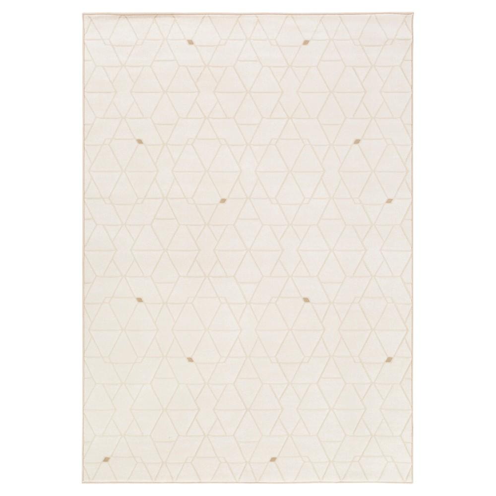 Cream (Ivory) Abstract Tufted Area Rug - (7'10X10') - Surya