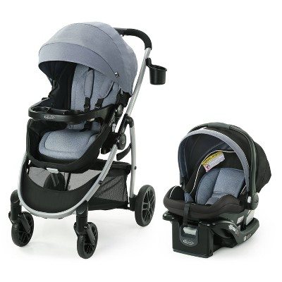 Graco Modes Pramette Travel System with SnugRide Infant Car Seat - Ontario