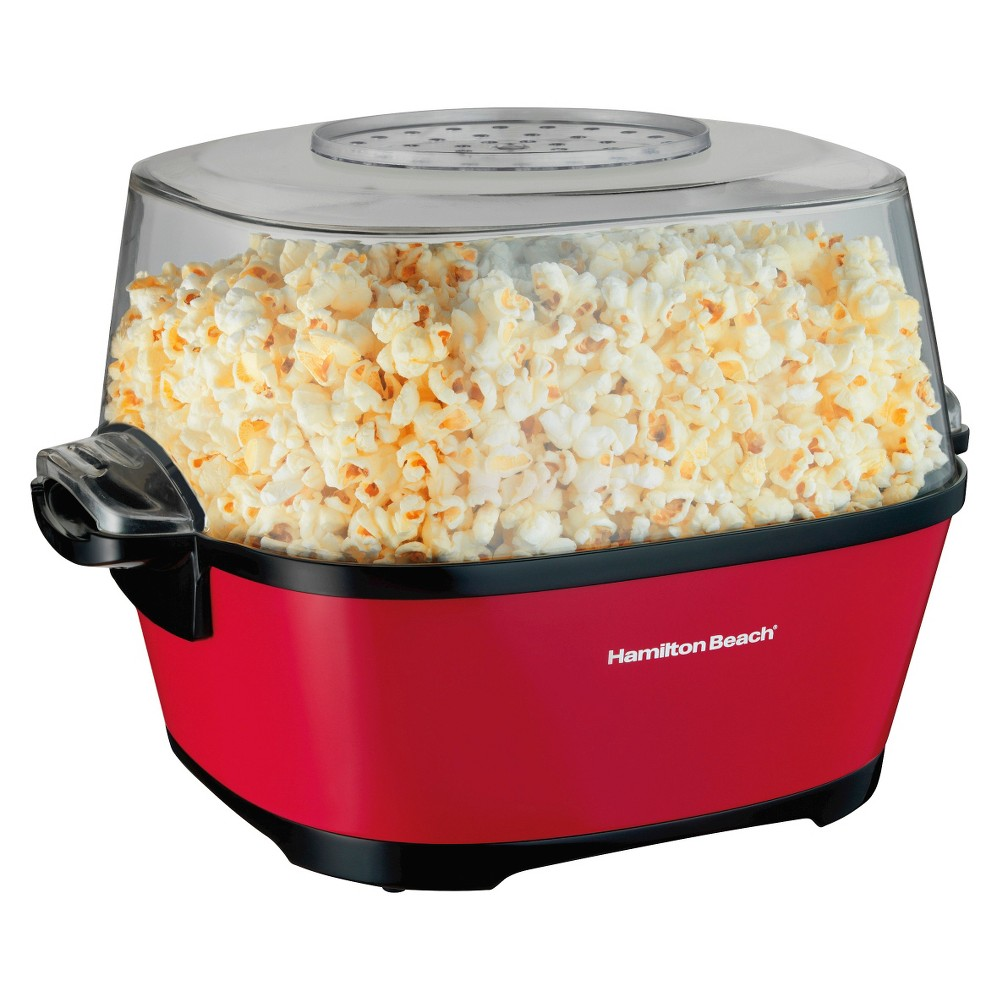 Hamilton Beach Electric Popcorn Maker with Stir Arm- 73302 15080241