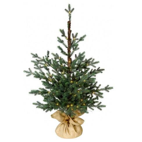 3ft Prelit Slim Artificial Christmas Tree Potted Balsam Fir Warm White Dew  Drop LED Lights - Wondershop™ - 3ft Prelit Slim Artificial Christmas Tree Potted... : Target