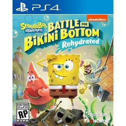 Spongebob Squarepants: Battle for Bikini Bottom Rehydrated - PlayStation 4