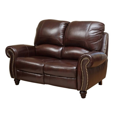 Groovy Harlow Pushback Loveseat Abbyson Living Unemploymentrelief Wooden Chair Designs For Living Room Unemploymentrelieforg