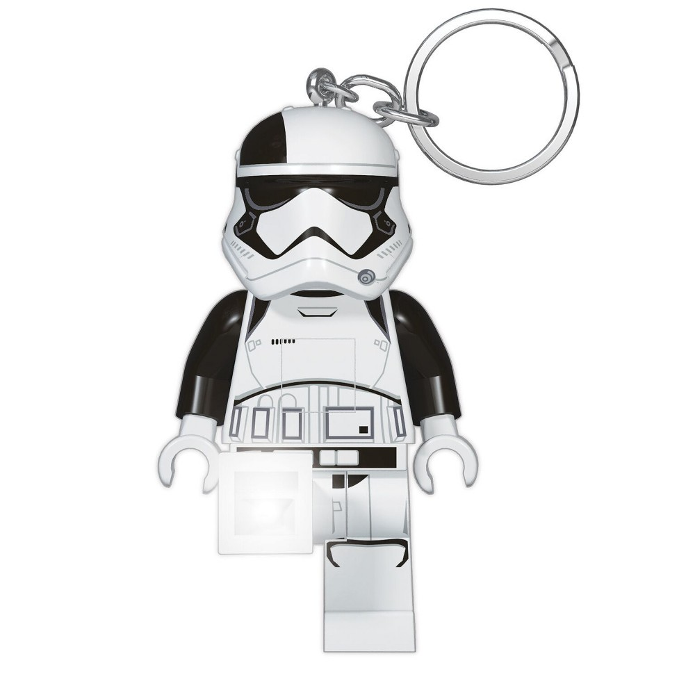 Star Wars Lego Stormtrooper First Order Executioner Key Chain with Light, Multi-Colored