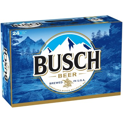 Busch Beer - 24pk/12 fl oz Cans