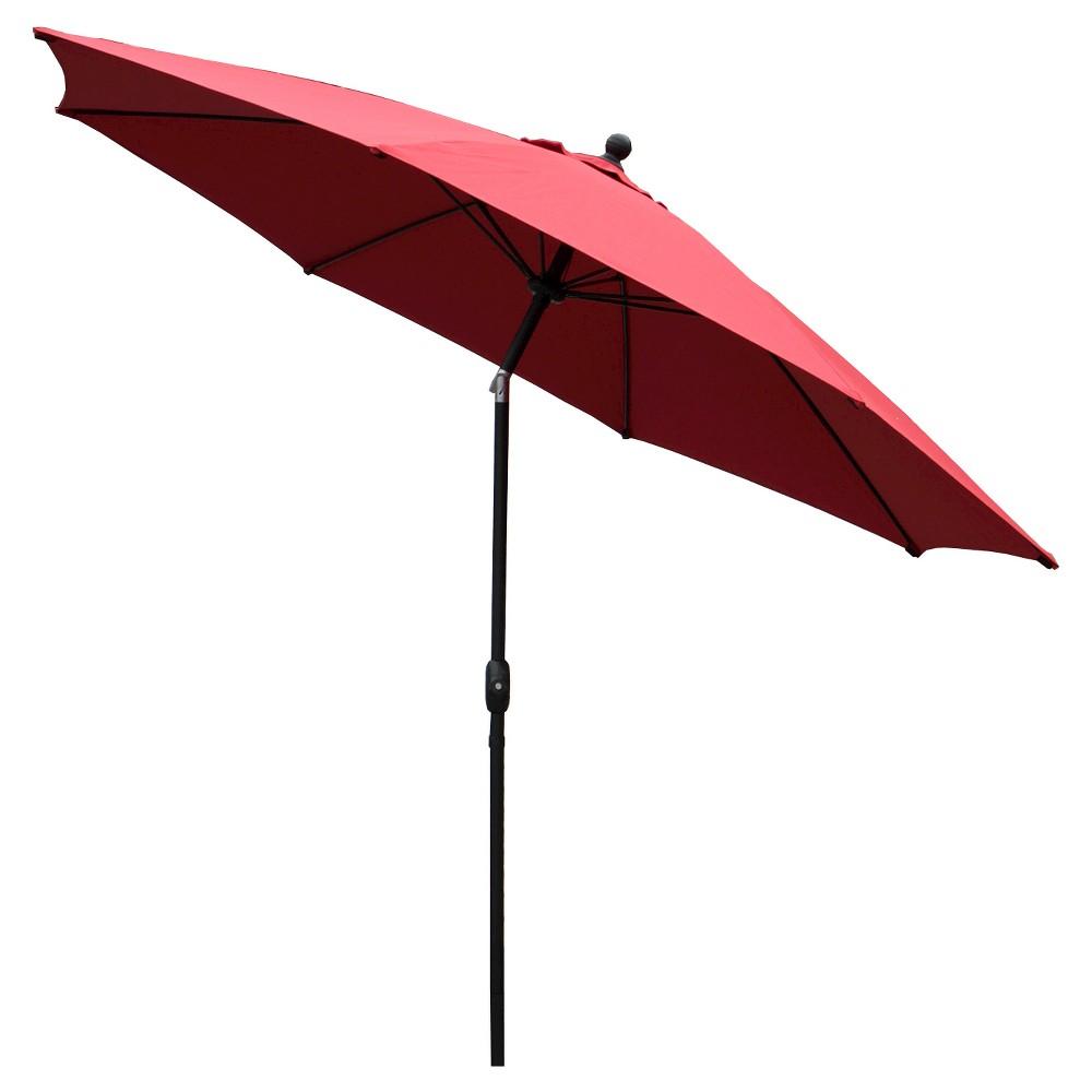 Image of AE Outdoor Market Umbrella 10' - Canvas Jockey Red