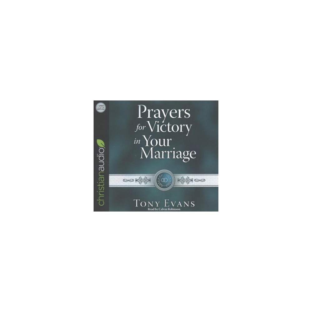 Prayers for Victory in Your Marriage (Unabridged) (CD/Spoken Word) (Tony Evans)
