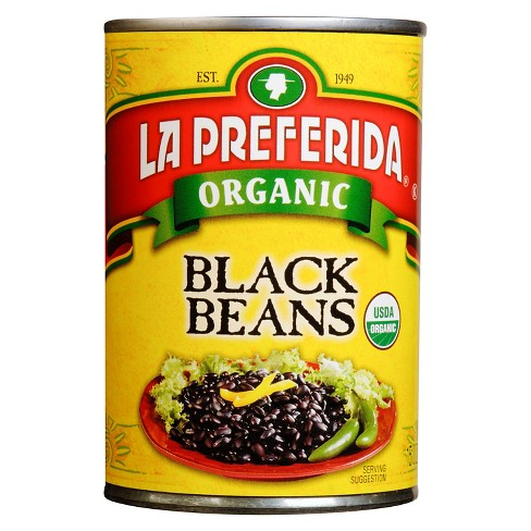 La Preferida® Organic Black Beans 15 oz - image 1 of 1