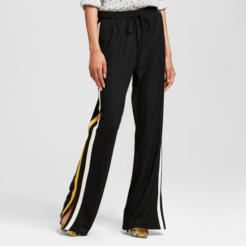 Women's Track Pants Black XL - Who What Wear™ - image 1 of 3