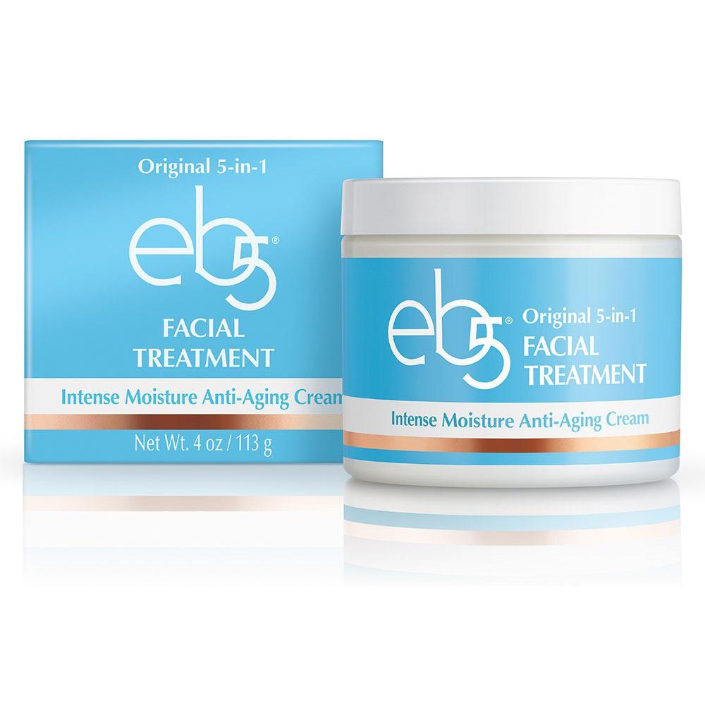 Image of eb5 Unscented Original 5 in 1 Intense Moisture Anti Aging Cream - 4oz