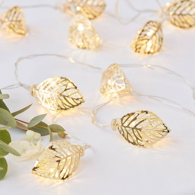 String Lights Party Decorations Gold