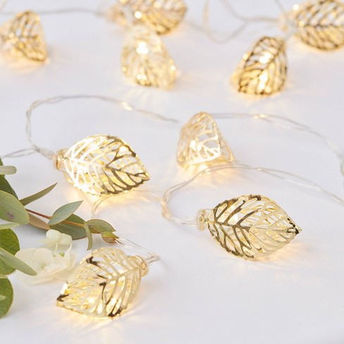 String Lights Party Decorations Gold - image 1 of 2