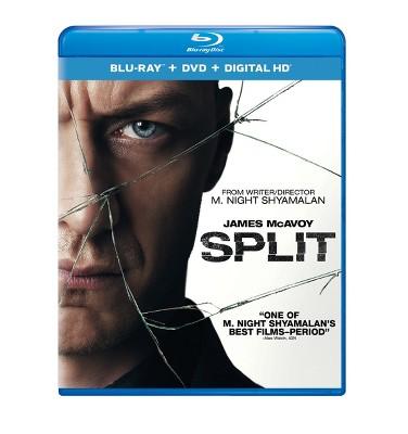 Split (Blu-ray + DVD + Digital)
