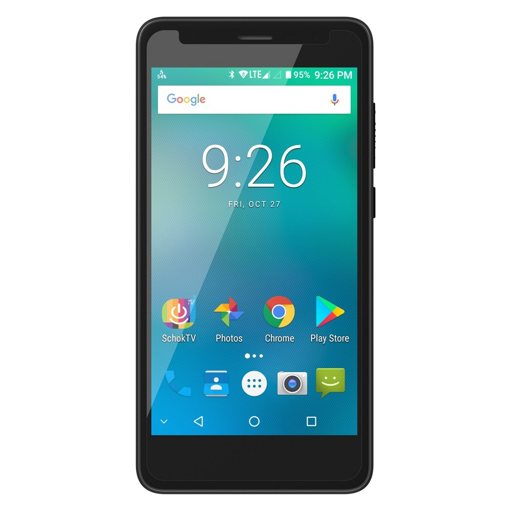 Schok Freedom Turbo 5 2GB Ram Smartphone (Gsm Unlocked) - Black