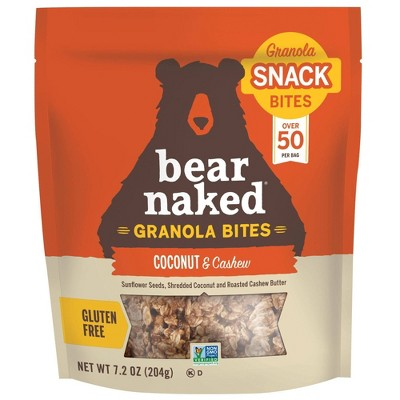 Bear Naked Granola Bites Coconut & Cashew - 7.2oz