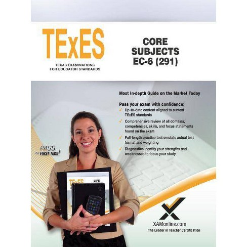 TExES Core Subjects Ec-6 (291) - by  Sharon A Wynne (Paperback) - image 1 of 1