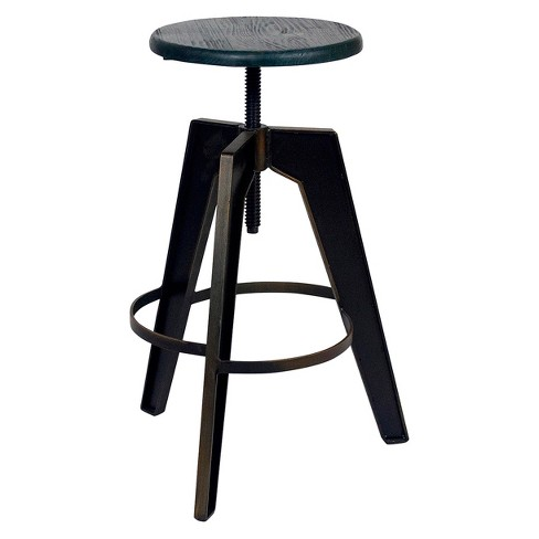Horace Adjustable Stool - Antique Copper - Aeon - image 1 of 1