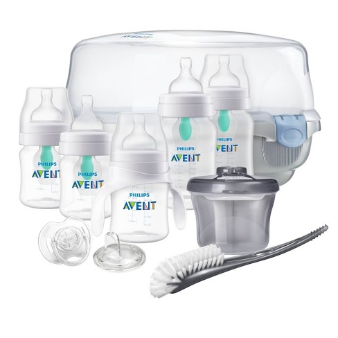 Philips Avent Anti-colic Bottle With AirFree vent Gift Set Essentials - image 1 of 4