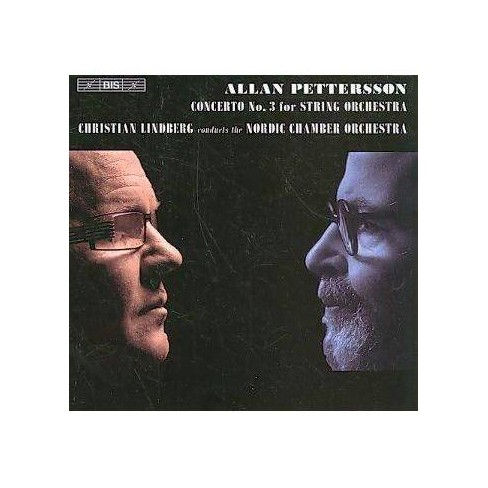 Christian Lindberg - Pettersson: String Concerto No. 3 (CD) - image 1 of 1