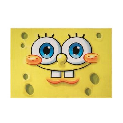 Nickelodeon SpongeBob Square Pants 5'x7' Rug Yellow