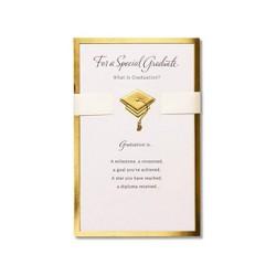 """Graduation Card """"Special Graduate"""" with Ribbon"""