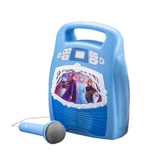 Disney Frozen 2 MP3 Karaoke Light Show with Microphone image number null
