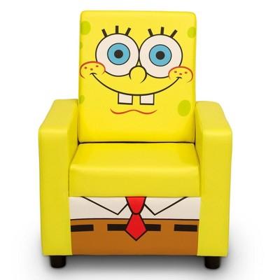 SpongeBob SquarePants High Back Upholstered Chair - Delta Children