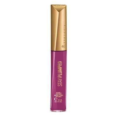 Rimmel Stay Plumped Lip Gloss - 0.21 fl oz