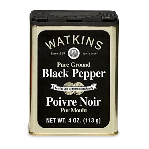 Watkins Pure Ground Black Pepper - 4oz - image 1 of 4