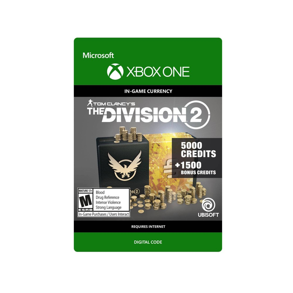 Tom Clancy S The Division 2 6 500 Credits Xbox One Digital
