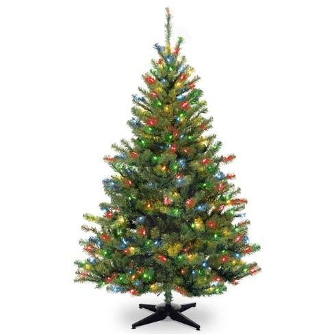 6ft National Tree Company Kincaid Spruce Artificial Tree LED Bulb Multicolored - image 1 of 2