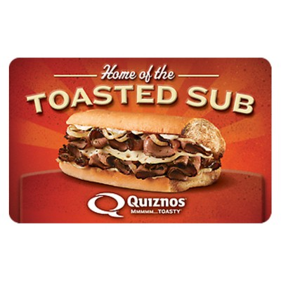 Quizno's $25 (Email Delivery)