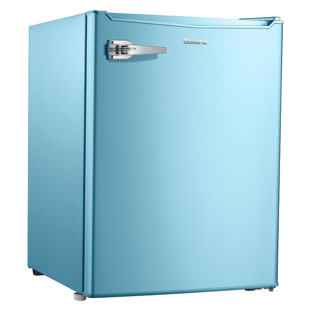 Image of Galanz 2.7 cu ft Retro Refrigerator Eggshell Blue