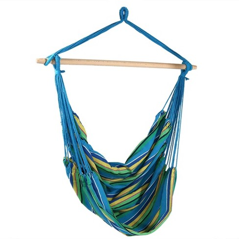 Ocean Breeze Jumbo Hanging Rope Hammock Chair Swing Target