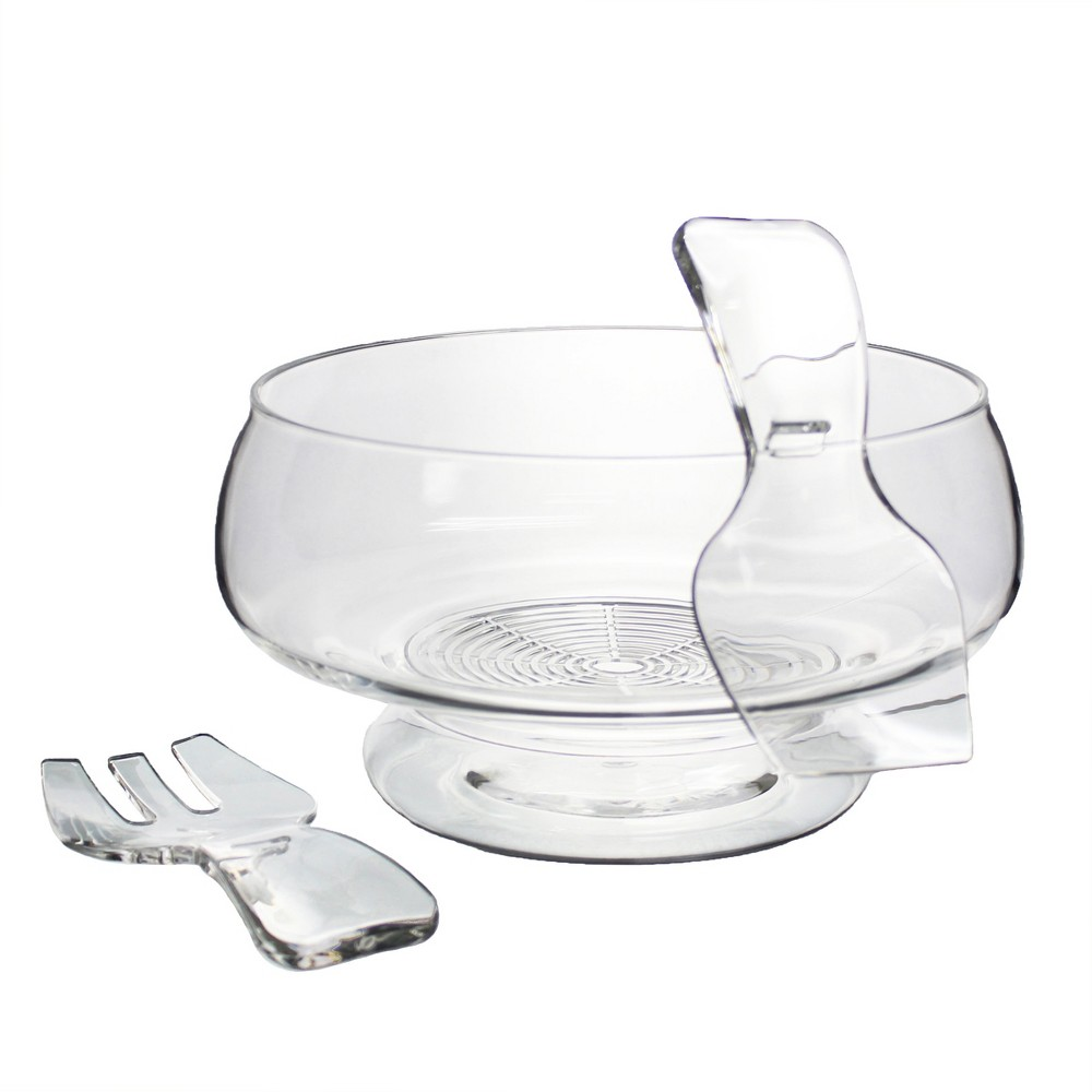 Image of Prodyne Salad Serving Set, Clear