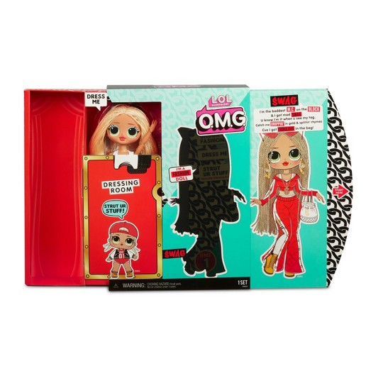 L.O.L. Surprise! O.M.G. Swag Fashion Doll with 20 Surprises image number null