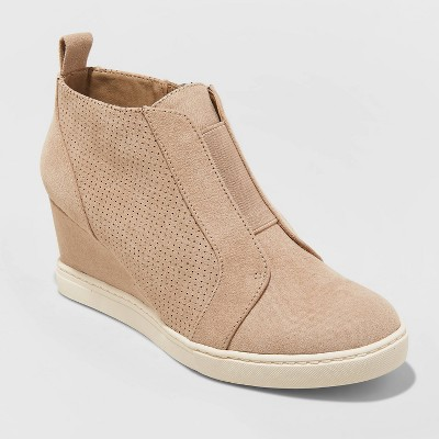Women's Kolie Wedge Sneakers - A New Day™