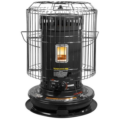 Sengoku CV-23K(H) KeroHeat Efficient Indoor Outdoor Portable Travel Convection Kerosene Space Heater with Automatic Safety Shut Off, 23,500 BTU, Black