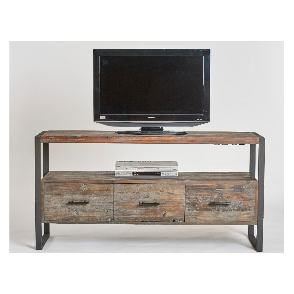 "Image of ""Swanson 60"""" Media Console Gray - Crawford & Burke"""