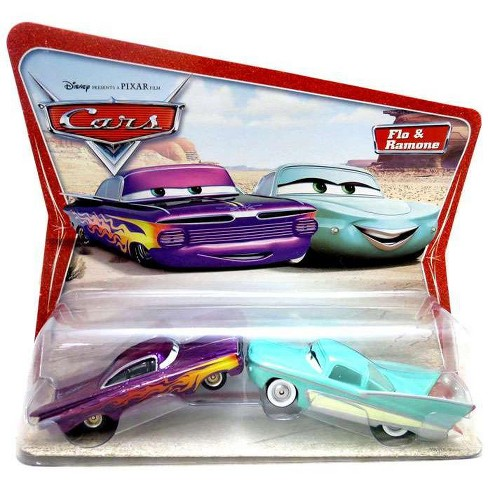 Disney Pixar Cars Flo And Ramone Diecast Car 2 Pack Target