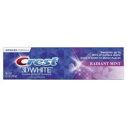 Crest 3D White Whitening Toothpaste, Radiant Mint - 4.1oz