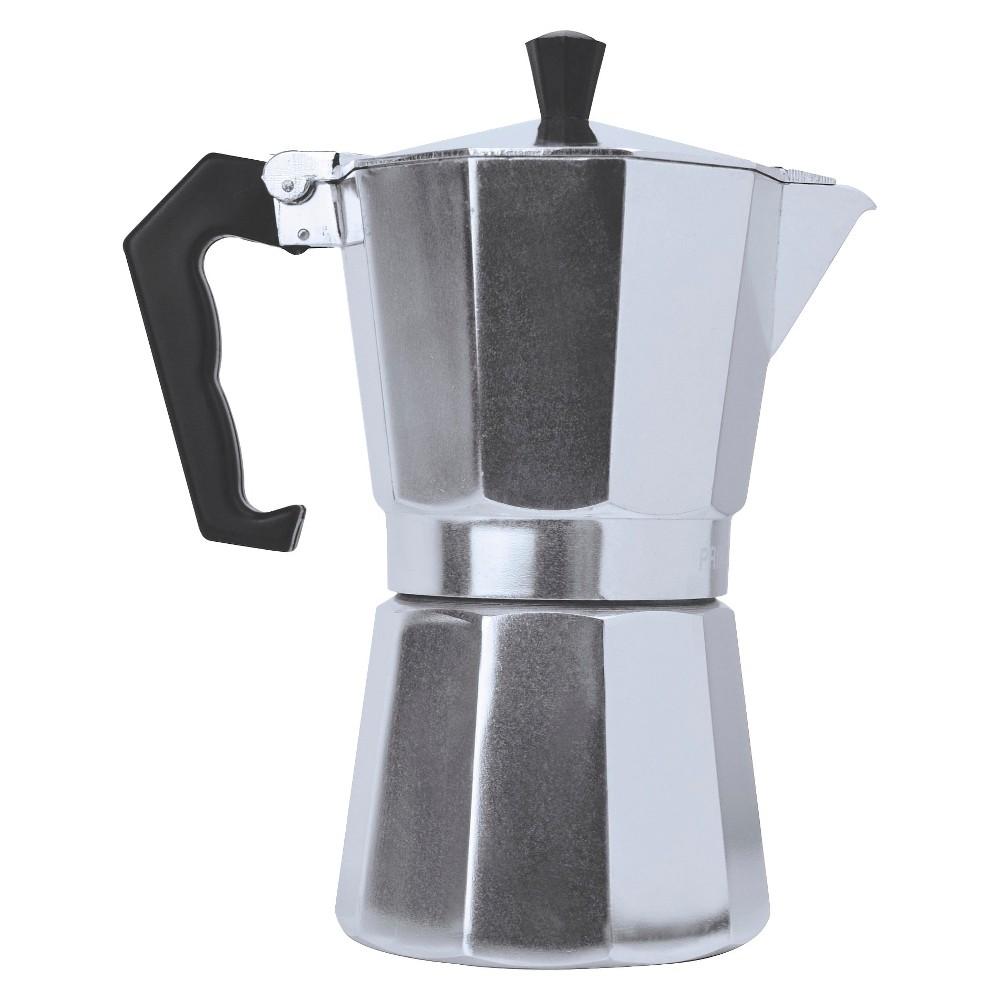 Primula Stovetop Espresso Maker, Light Silver 15194916