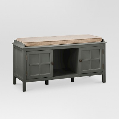 Windham Entryway Bench Gray - Threshold™
