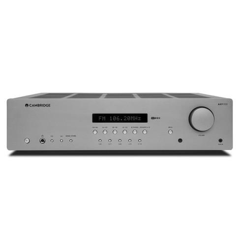 Cambridge Audio AXR100 FM/AM Stereo Receiver (Silver) - image 1 of 4