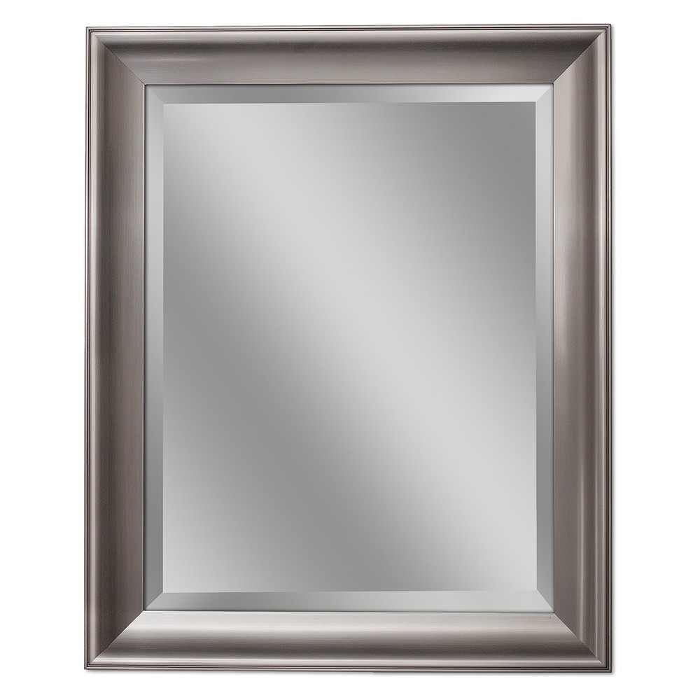 "Image of ""Head West 29""""x35"""" Transitional Mirror Brushed Nickel"""