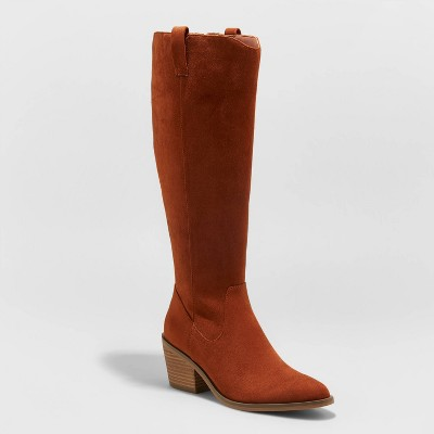 Women's Barb Tall Western Boots - Universal Thread™