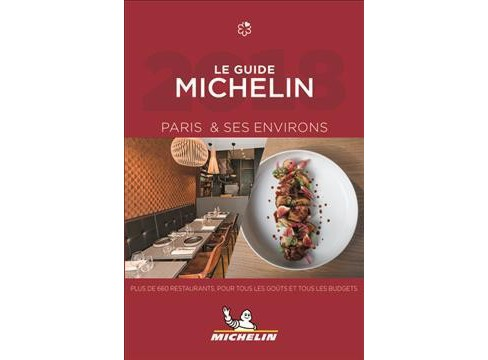 Michelin Red Guide 2018 Paris et Ses Environs -  (Paperback) - image 1 of 1