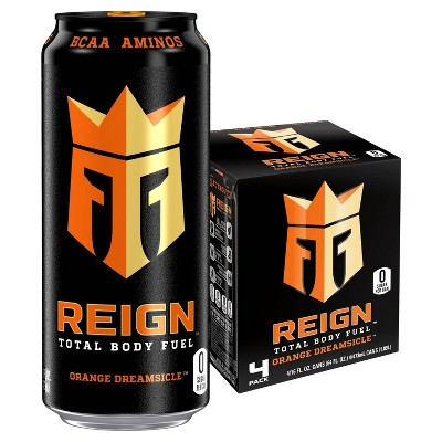 Reign Dreamsicle Energy Drink - 4pk/16 fl oz Cans