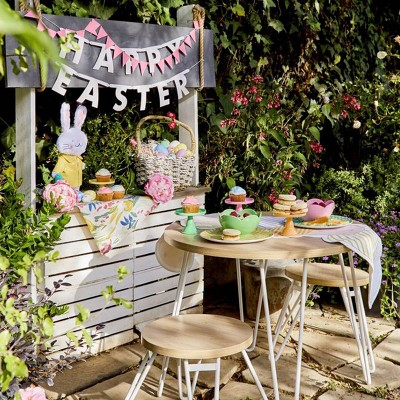 Kid's Outdoor Easter Lunch Ideas Styled by Emily Henderson