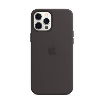 Apple iPhone 12 Pro Max Silicone Case with MagSafe - Black